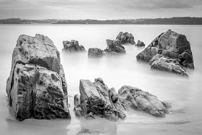 Art Print featuring the photograph Seselle Beach Galicia Spain by Pablo Avanzini