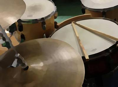 Drum Photograph - Set by Photographic Arts And Design Studio