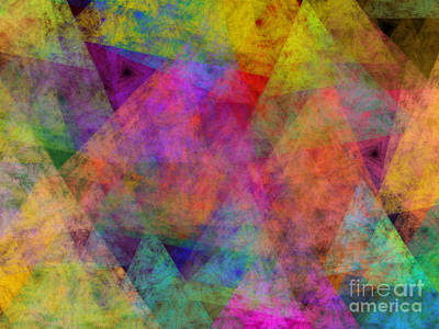 Digital Art - Set Sails On The Open Sea Abstract by Andee Design