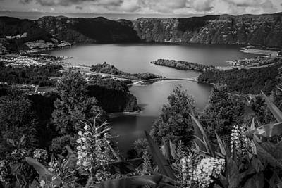 Eduardo Tavares Royalty-Free and Rights-Managed Images - Sete Cidades Lake by Eduardo Tavares