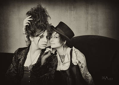 Steampunk Photograph - Seth And Amy by David April