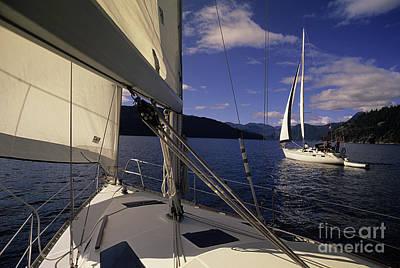 Setting Sail Print by Bob Christopher