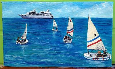 Painting - Setting Sail Maui by Darice Machel McGuire