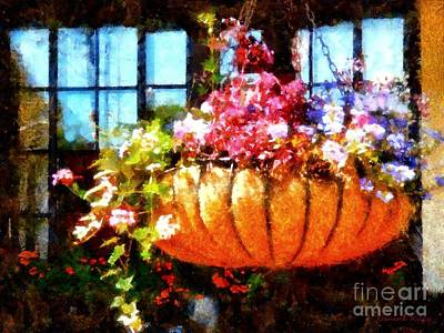 Photograph - Settlers Inn Welcome Basket by Janine Riley