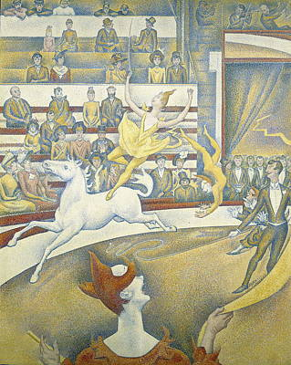 Seurat Photograph - Seurat, Georges 1859-1891. The Circus by Everett