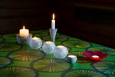 Photograph - Seven Candles by Ari Salmela
