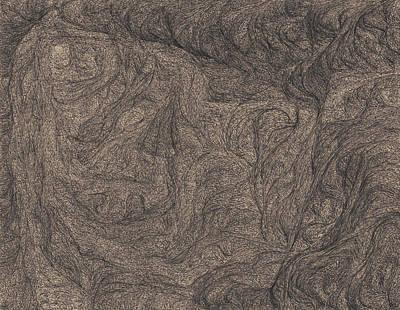 Pitbull Drawing - Seven by David Mivshek
