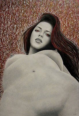 Painting - Seven Deadly Sins - Lust by Lynet McDonald