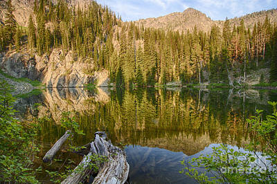 Photograph - Seven Devils Lake by Idaho Scenic Images Linda Lantzy