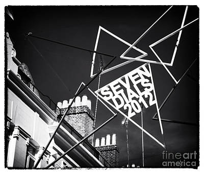 Photograph - Seven Dials by John Rizzuto