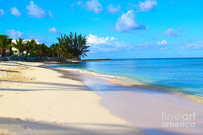Turks And Caicos Islands Photograph - Seven Mile Beach by Carey Chen