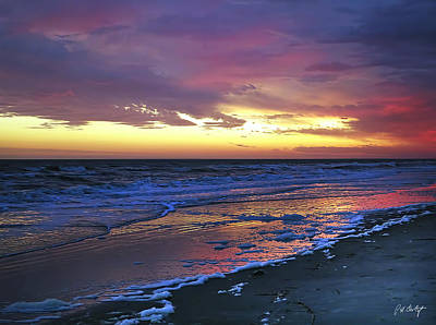 Beaufort County Photograph - Seven Minutes On The Beach by Phill Doherty