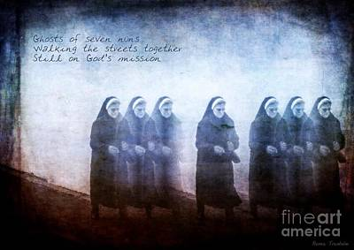 Photograph - Seven Nuns by Renee Trenholm