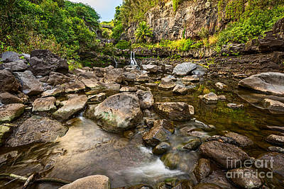 Photograph - Seven Sacred Flow by Jamie Pham