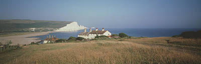 Seven Sisters Dover England Art Print by Panoramic Images