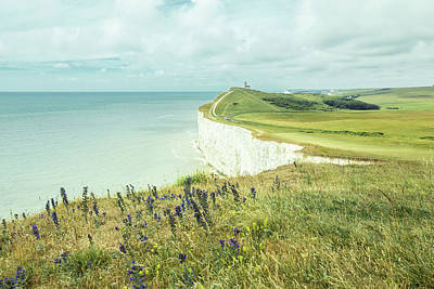 Photograph - Seven Sisters, East Sussex, England by Kenji Lau