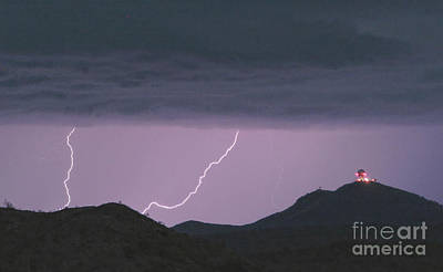Seven Springs Lightning Strikes Print by James BO  Insogna