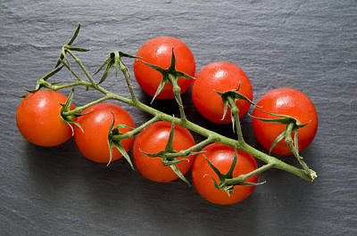 Photograph - Seven Tomatoes by Mick House