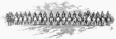 Seventh Cavalry, 1891 Art Print