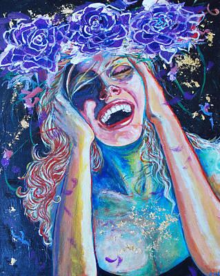 Prana Wall Art - Painting - Seventh Heaven by Christina  Martine