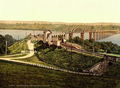 Publishing Photograph - Severn Railway Bridge by Library Of Congress