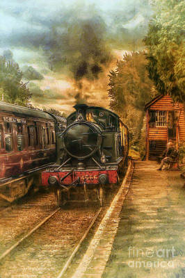 Severn Valley Railway Art Print by J A Evans