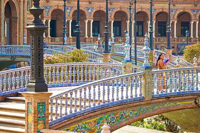 Sevilla In Spain Art Print by Francesco Riccardo  Iacomino