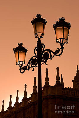 Seville Lantern Art Print by Rod McLean