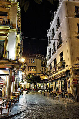 Seville Nights Art Print