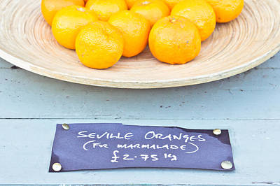Sterling Photograph - Seville Oranges by Tom Gowanlock