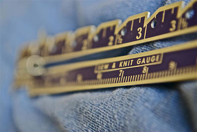 Photograph - Sew And Knit Gauge by Bill Owen