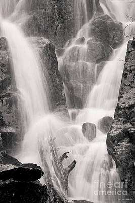 Seward Falls Art Print by Chris Heitstuman
