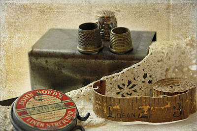 Photograph - Sewing Basket by Julie Williams