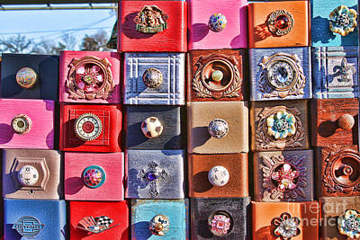 Photograph - Sewing Drawers by Audreen Gieger