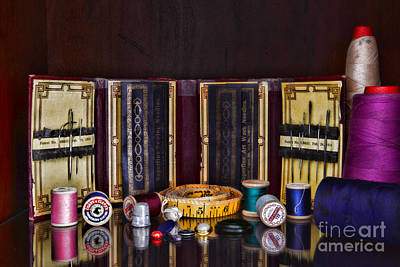 Photograph - Sewing Kit by Paul Ward
