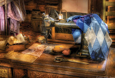 Photograph - Sewing Machine  - Sewing Machine IIi by Mike Savad