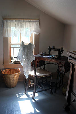 Photograph - Sewing Room Pointe Aux Barques by Mary Bedy