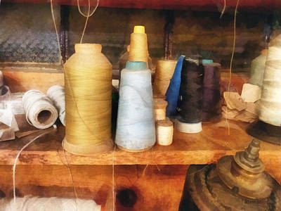 Photograph - Sewing - Tailor's Thread by Susan Savad