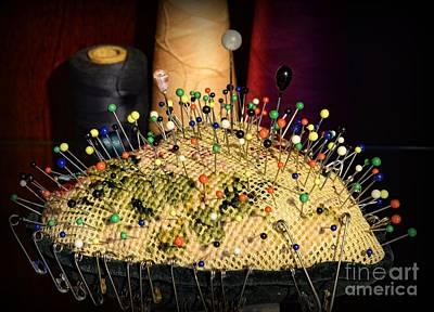 Photograph - Sewing - The Pin Cushion by Paul Ward
