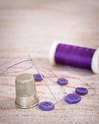 Photograph - Sewing Thimble by Amanda Elwell