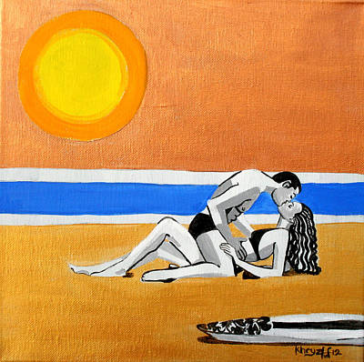 Painting - Sex On The Beach by Khryztof