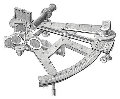 Hartwell Photograph - Sextant by Royal Astronomical Society