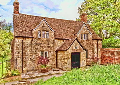 Sextons Cottage Devizes Art Print