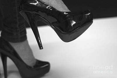 Photograph - Sexy Black Heels by Amazing Jules