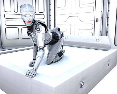 Digital Art - Sexy Machine V1 by Frederico Borges