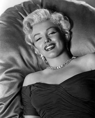 Actors Photograph - Sexy Marilyn Monroe by Retro Images Archive