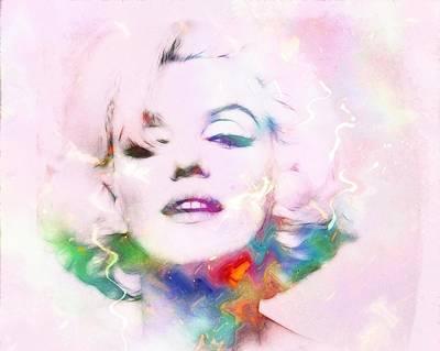 Sexy Marilyn Art Print by Steve K