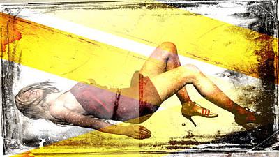 Edward Hopper - Sexy Woman by David Ridley
