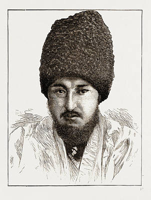 Seyd-muhammed-rachim-bogadur, Khan Of Khiva Uzbekistan Art Print by Litz Collection