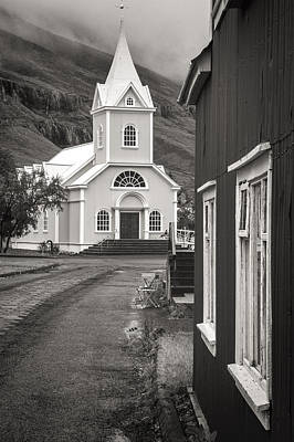 Photograph - Seydisfjordur Church by For Ninety One Days